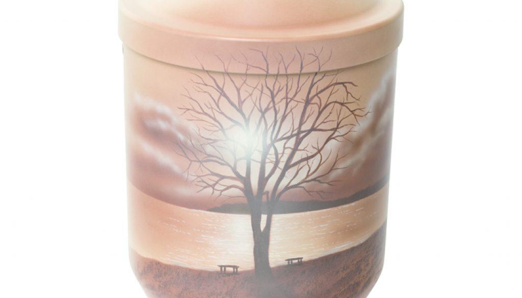 urne-baum-am-see